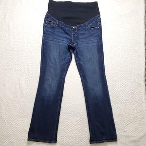 Thyme maternity/ Denim Blue Pants/ Size XL